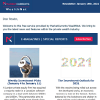 Newsletter, 2021 – Vol 01